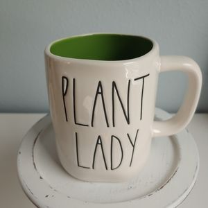 Rae Dunn PLANT LADY Mug